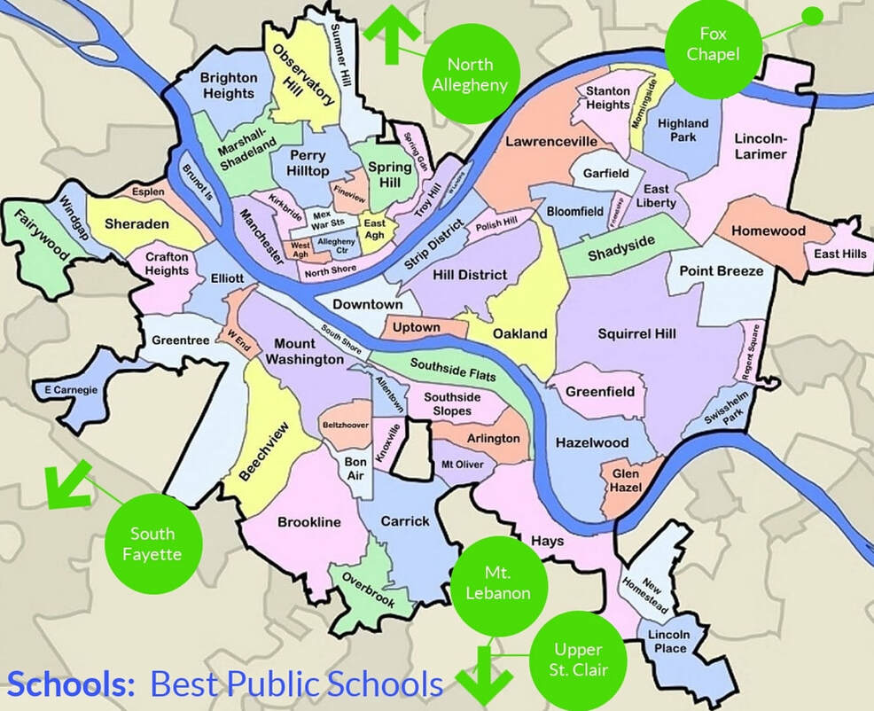 Best public schools in Pittsburgh